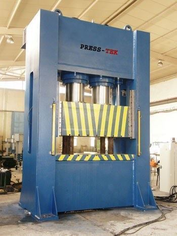 Hidrolik Form Verme Presi / Press-Tek Htep800 200t