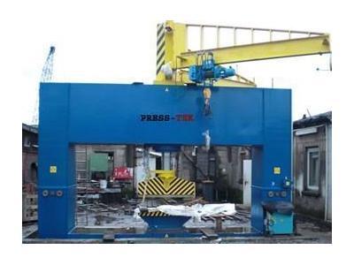 450 Ton Gemi Yapım Presi  Press-Tek Scp610 450t