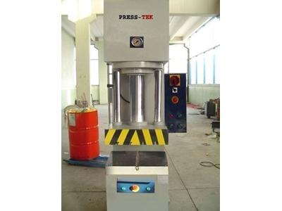 30 Ton Hidrolik C Tipi Montaj Presi Press-Tek Hcp580 30t