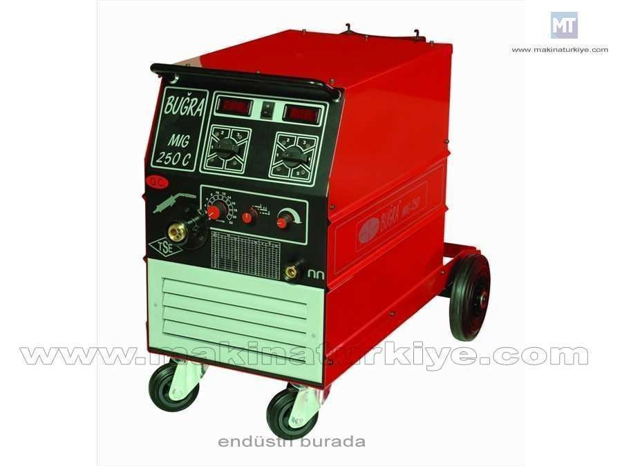 Mıg/Mag Kaynak Makinesi / Buğra Mıg 250 T