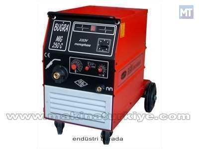 Mıg/Mag Kaynak Makinesi / Buğra Mıg 250 C Monophase