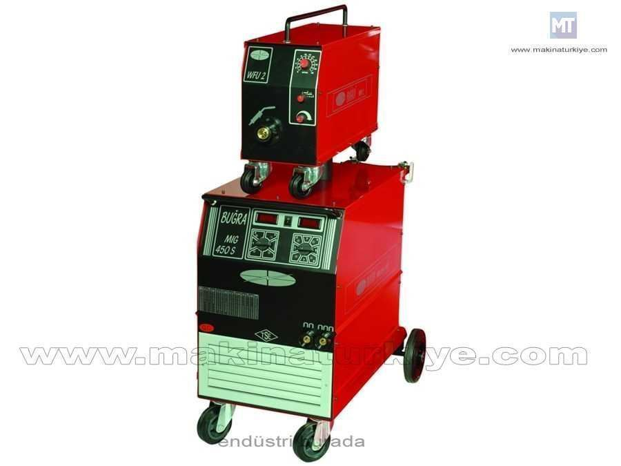 Mıg/Mag Su Soğutmalı Kaynak Makinesi / Buğra Mıg 450 Sw