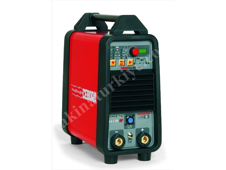 İnvertör Tip Tıg Dc Kaynak Makinesi / Cebora Power Tıg 1665 Dc-Hf