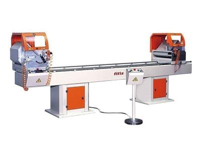 Çift Kafa Kesim Makinası (Alından Çıkma) Yarı Otomatik / Titiz 2cy