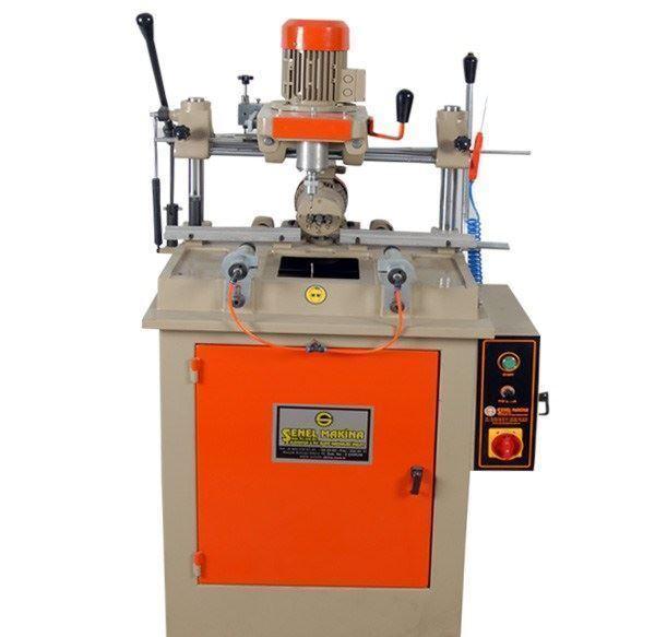 Otomatik Üçlü Kol Yeri Delme Kopya Freze Su Tahliye Makinesi