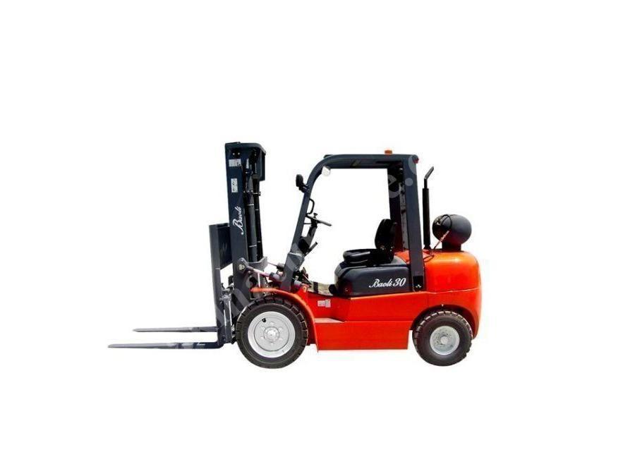 Lpg ' Li Forklift 3 Ton / Baoli Pqd30