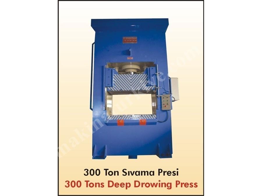 Hidrolik 300 Ton H Tipi Pres / Hidroliksan Htp1