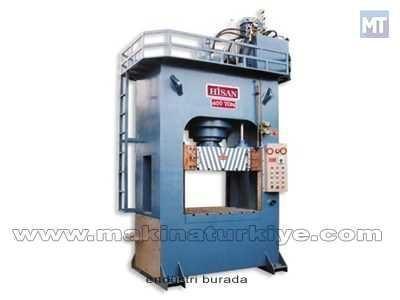 400 Ton H Tipi Hidrolik Sıvama Pres