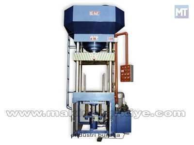 Hidrolik Sütunlu Sıvama Pres / Hisan 100 Ton