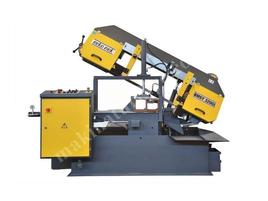 Açılı Yarı Otomatik Şerit Testere Makinesi Beka-Mak - BMSY-320GL