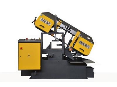 Açılı Yarı Otomatik Şerit Testere Makinesi Beka-Mak - BMSY-320G