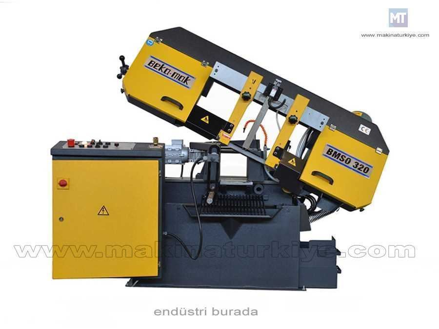 Tam Otomatik Şerit Testere Makinesi Beka-Mak (BMSO-320)