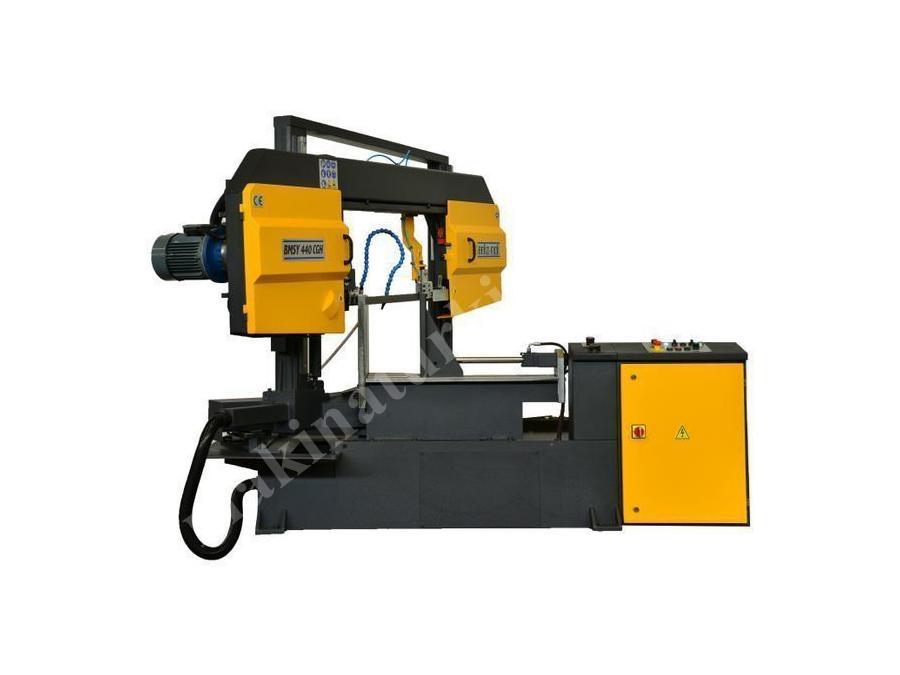 Yarı Otomatik Açılı Kesim Sütunlu Şerit Testere Makinesi Beka-Mak (BMSY-440CGH)