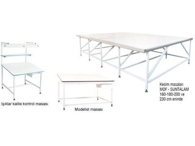 Konfeksiyon Masaları / Konfeksan K-Km