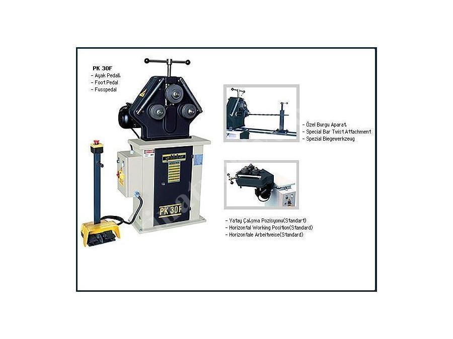 Boru Profil Bükme Makinesi / Şahinler Pk 30 F