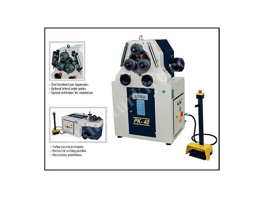 Boru Profil Bükme Makinesi / Şahinler Pk 40