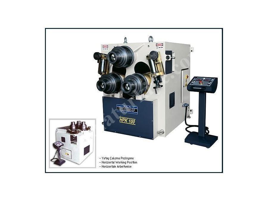Hidrolik Boru Profil Bükme Makinesi / Şahinler Hpk 100