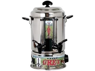 160 Bardaklık, Cilalı Çay Makinası / Üret Çm 160