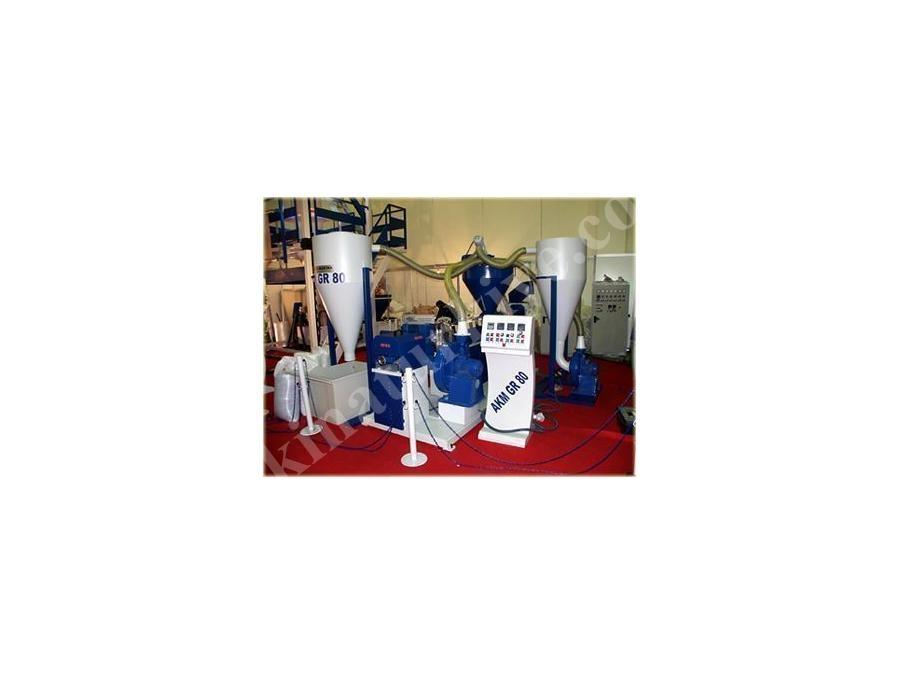 Granül Geri Dönüşüm Makinaı 80 kg / saat