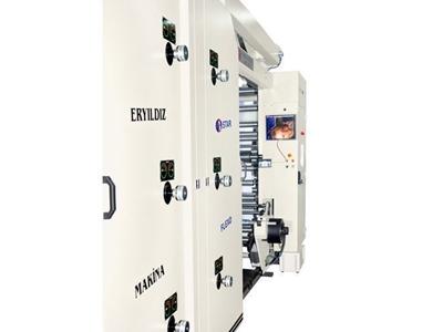 Flexo Baskı Makinası / Eryıldız Star Flexo Eym 1300-6