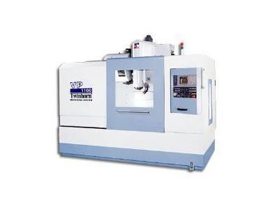 Kutu Kızaklı Kalıpçı Cnc Dik İşleme Merkezi / Twinhorn Vp 1100
