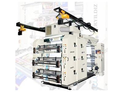 Flexo Baskı Makinası / Eryıldız Star Flexo Eym 1400-6