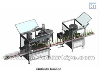 Tam Otomatik Rotatif Gravimetrik Dolum Makinası / Doğrusöz Rv-1206