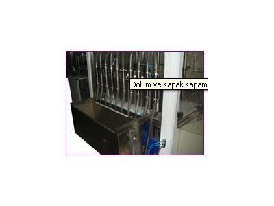 6 Pompalı Volumetrik Dolum Makinası / Endromak Endr-1