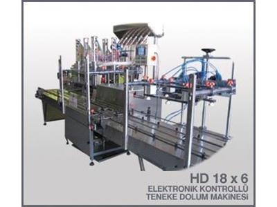 Elektronik Kontrollü Volumetrik Dolum Makinası