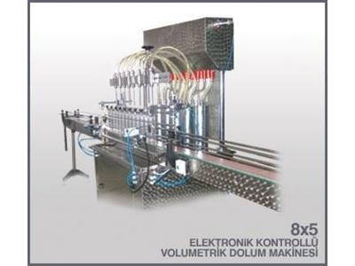 Volumetrik Dolum Makinası / Şakar Hd 8x5