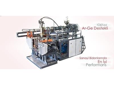 Hidrolik Kafalı Şişirme Makinası / Şakar Ø90