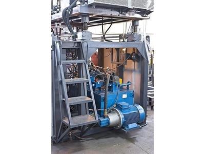 Plastik Şişe Şişirme Makinası / Şakar Ø110