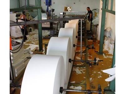 5 Bobin Yüklemeli Kağıt Kesim Ve Ebatlama Makinesi