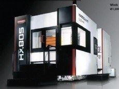 Cnc Yatay İşleme Merkezi / Quaser Hx805