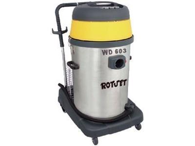 3 Motorlu Islak / Kuru Süpürge Makinesi / Rotjet Wd 603
