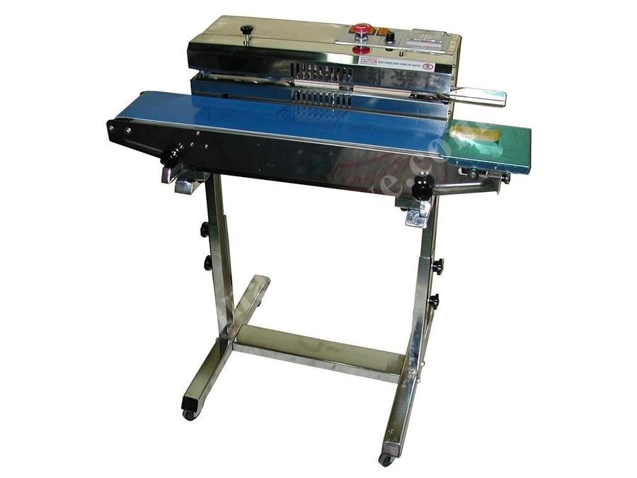 Yürüyen Bantlı Poşet Ağzı Yapıştırma Makinası / Mec Mec 883 Bs