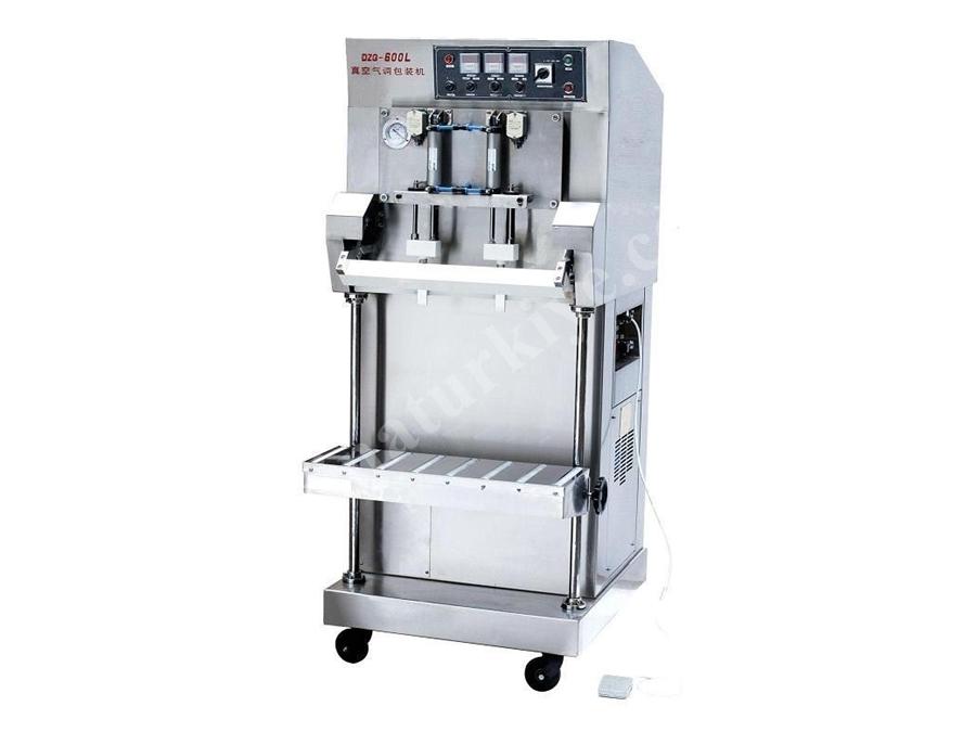 Gazlı Dikey Vakum Paketleme Makinası / Packtech Pt Dzq 600 L