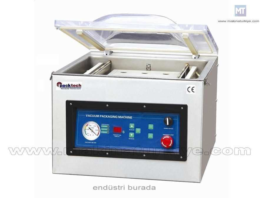 Masa Üstü Gazlı Vakumlu Paketleme Makinası / Packtech Pt Dzq 500 T/Eb