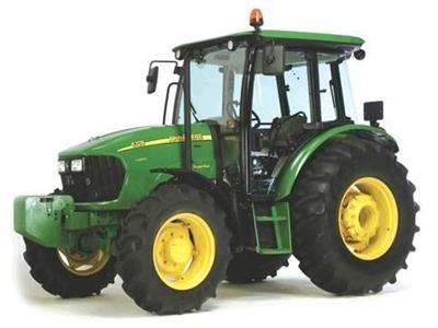 95 Hp Traktör John Deere 5725 SuperPlus 4WD Kabinli
