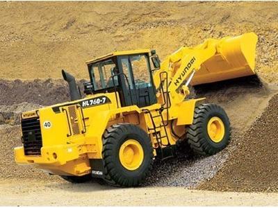 Lastik Tekerlekli Yükleyici / Hyundaı Hl760-7a