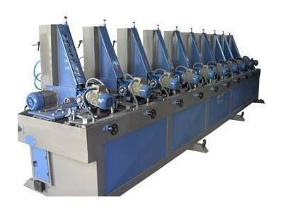 10 İstasyonlu Boru Zımparalama Makinesi