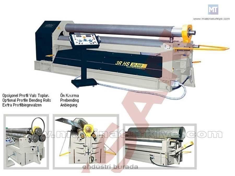 Şahinler Hidrolik 3 Toplu Silindir Makinesi / Şahinler 3r Hs 20-280