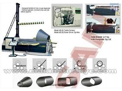 4 Toplu Hidrolik Silindir Makinesi