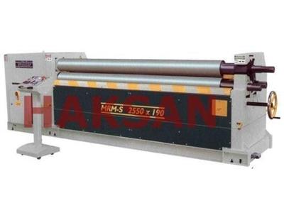 Asimetrik 3 Toplu Motorlu Silindir Makinesi / Şahinler Mrm-S 1050x130