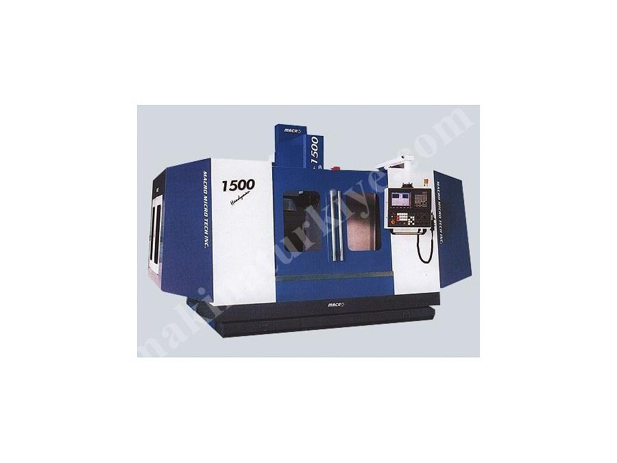 Macro Cnc Freze Tezgahı / Macro H-1000