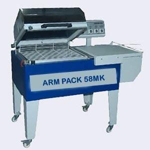 Kapaklı Shrink Ambalaj Makinası / Arm Pack 58 Mk