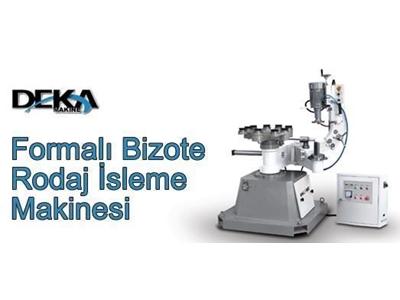 Formalı Bizote Rodaj İşleme Makinesi