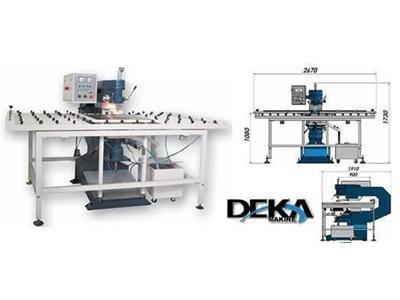 Yarı Otomatik Çift Yönlü Cam Delme Makinesi
