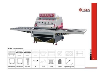 Yüzey Kanal Makinesi / Esen He 805