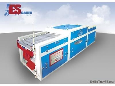 Escaner 1200 mm Yatay Cam Yıkama Makinesi
